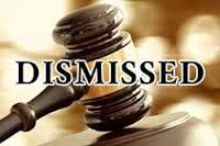 dismissed case